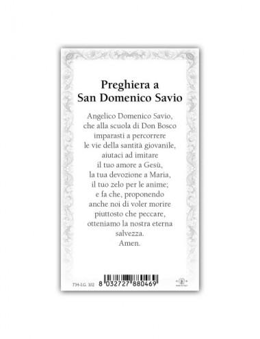 Santino San Domenico Savio...