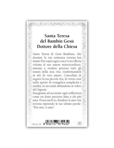 Santino Santa Teresa del...