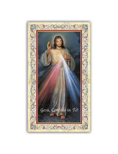 Santino Gesù Misericordioso...