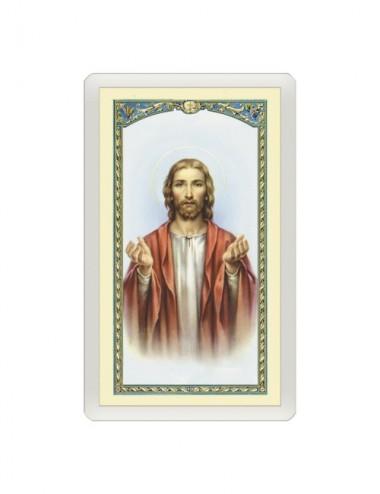 Santino Plastificato Sacro...