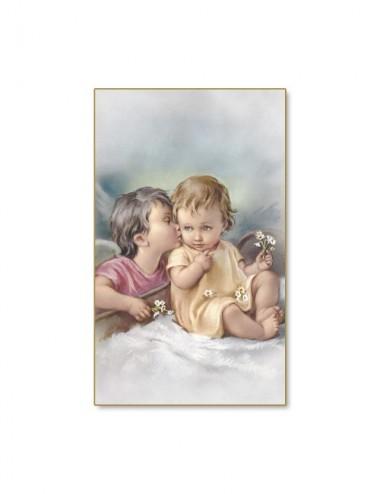 Santino dell'angelo del bacio
