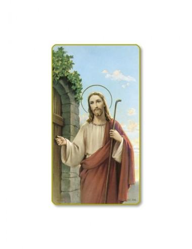 Santino di Gesù che bussa...
