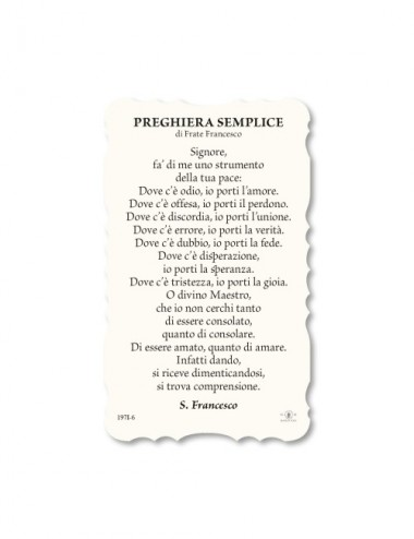Santino di San Francesco...