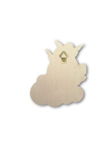 Quadretto in legno sagomato...