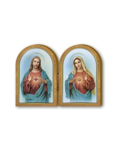 Dittico in legno del Sacro...