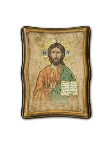 Quadretto anticato di Gesù...
