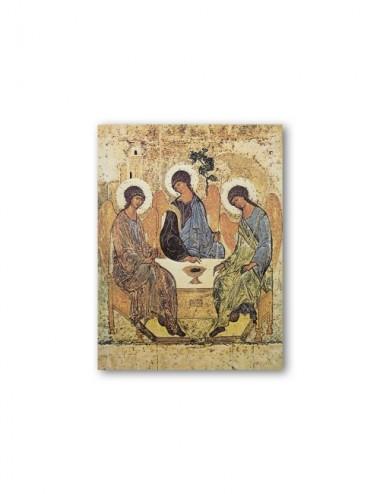 Quadretto in MDF della Trinità