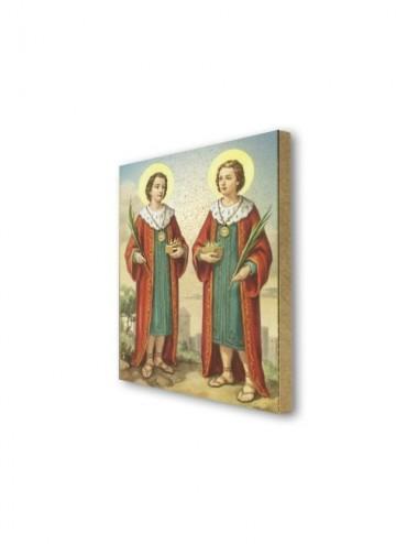 Quadretto in MDF dei Santi...