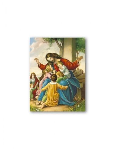 Quadretto in MDF di Gesù...