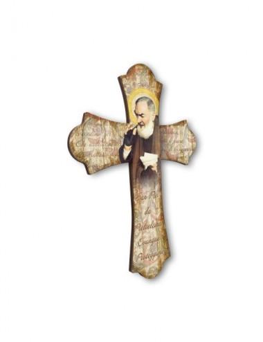 Croce vintage in legno del...