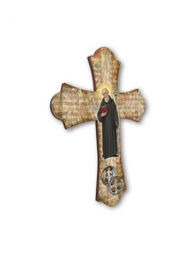 Croce vintage in legno di...