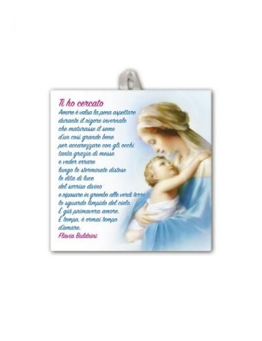 Piastrella della Madonna...