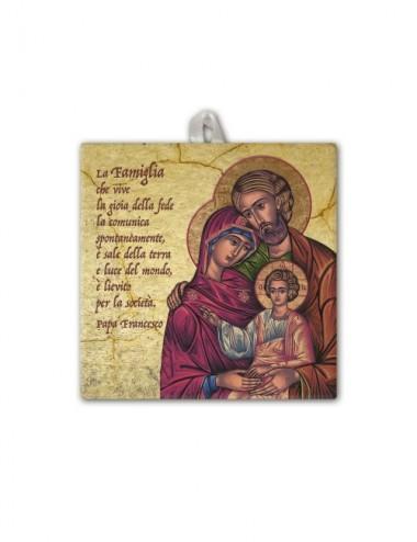 Piastrella della Sacra...