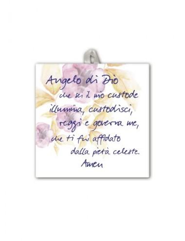 Piastrella con Angelo di...