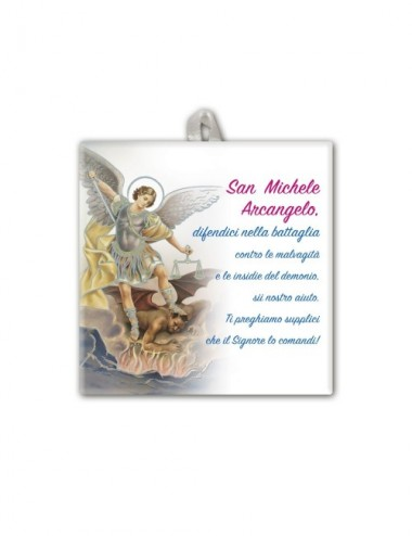Piastrella di San Michele...