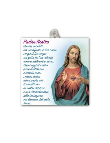 Piastrella del Sacro Cuore...