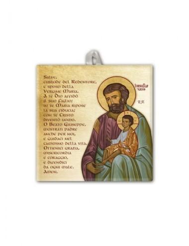 Piastrella di San Giuseppe...