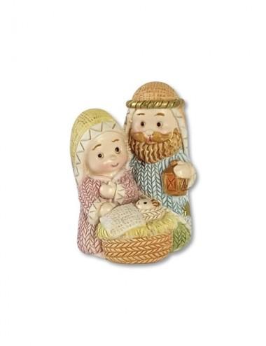 Natività in resina con Gesù...