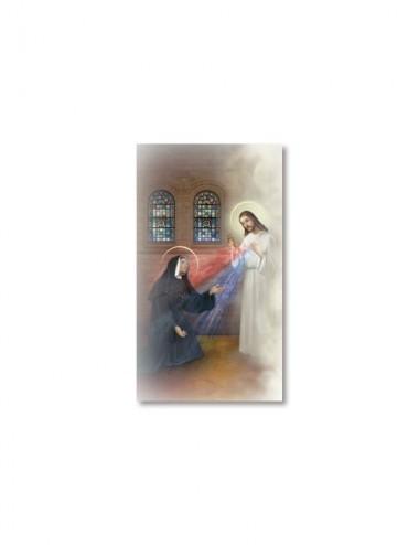 Santino Apparizione di Gesù...