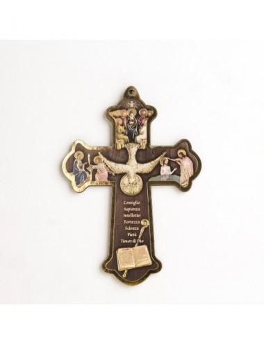 Croce di Cresima in legno