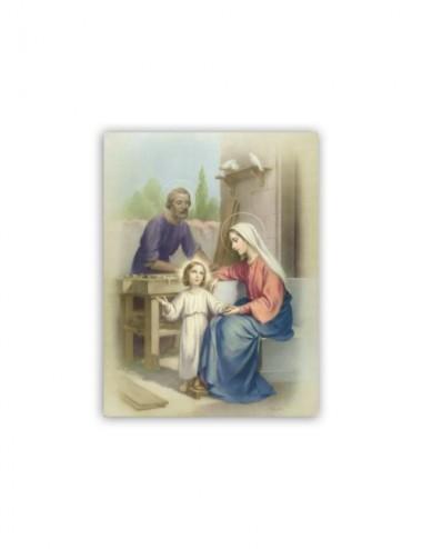 Mini poster con la Sacra...