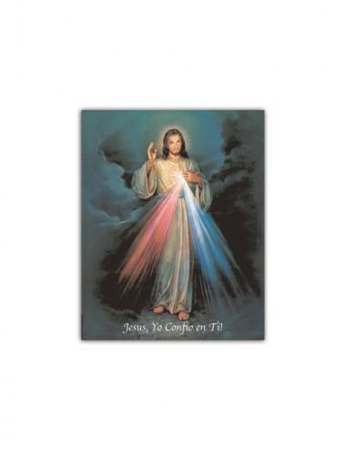 Mini poster con Gesù...
