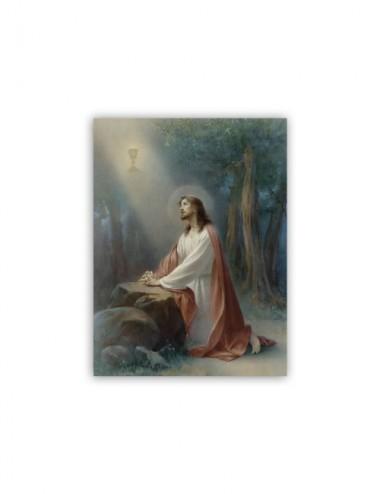 Mini poster con Gesù in...