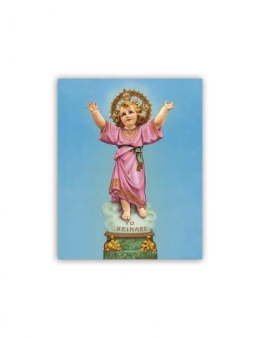 Mini poster con il Divino Niño