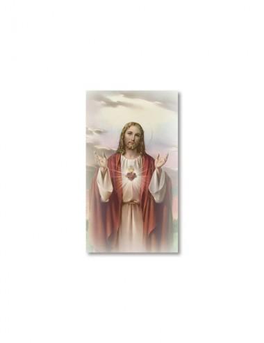 Santino Sacro Cuore di Gesù...