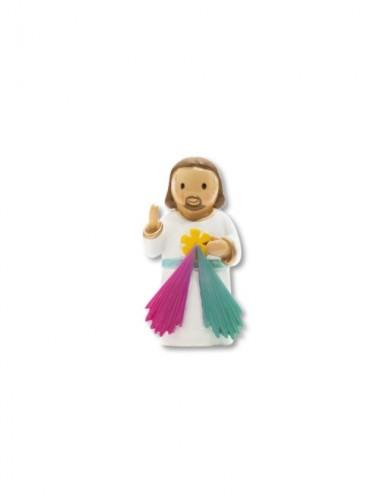 Statuetta in resina di Gesù...