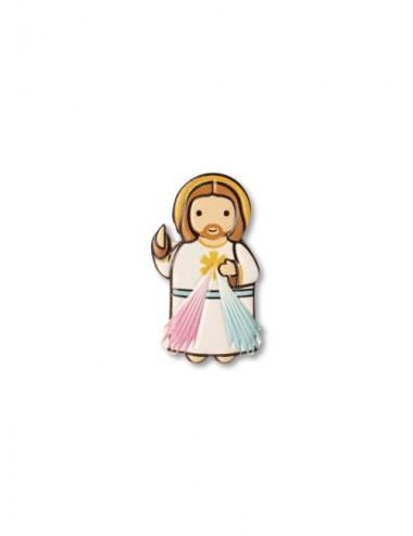 Magnete in resina con Gesù...